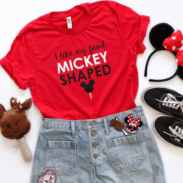 Mickey Food Unisex Crew - Red Limited Edition!