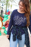 Magic in the Air Ladies Flowy Long Sleeve