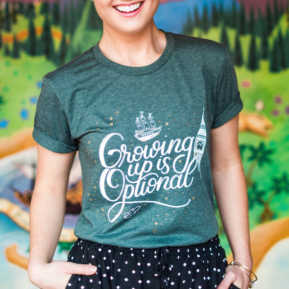 Growing Up Unisex Crew, Heather Forest