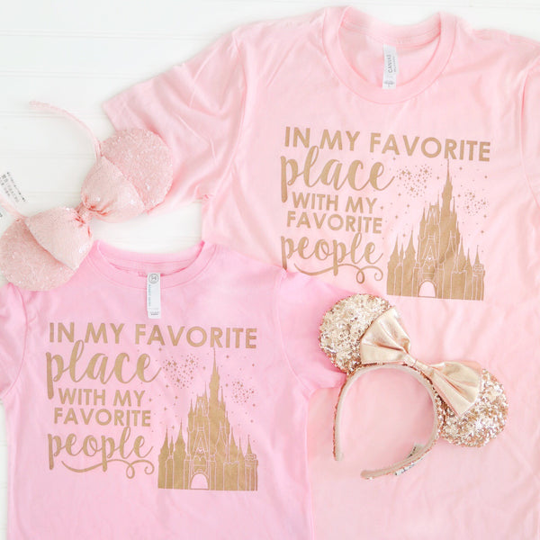 Rose Gold Favorite People Youth and Toddler Tees