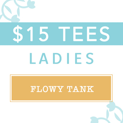 $15 Mystery Tees, Ladies Tank
