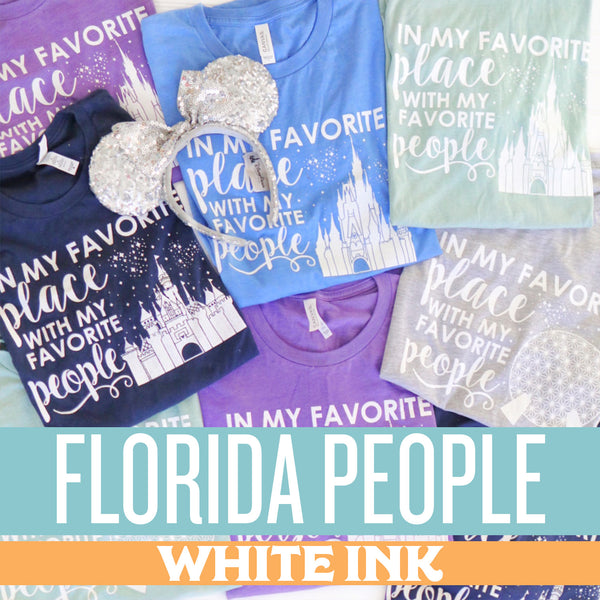 Winter In My Favorite Place Collection- FLORIDA PEOPLE