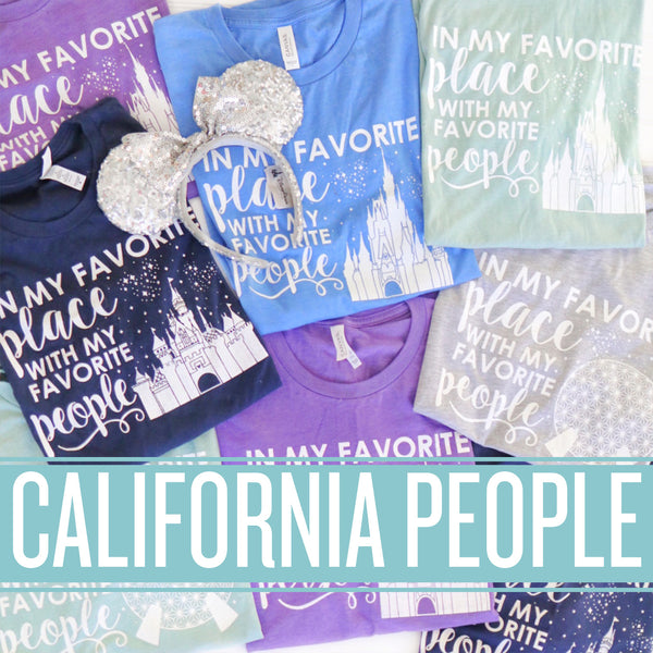Winter In My Favorite Place Collection- CALIFORNIA PEOPLE