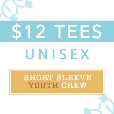 $12 MYSTERY TEES, YOUTH Unisex Crew