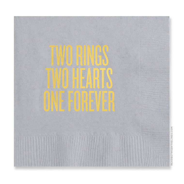 Two Rings Cocktail Napkins by RBTL®