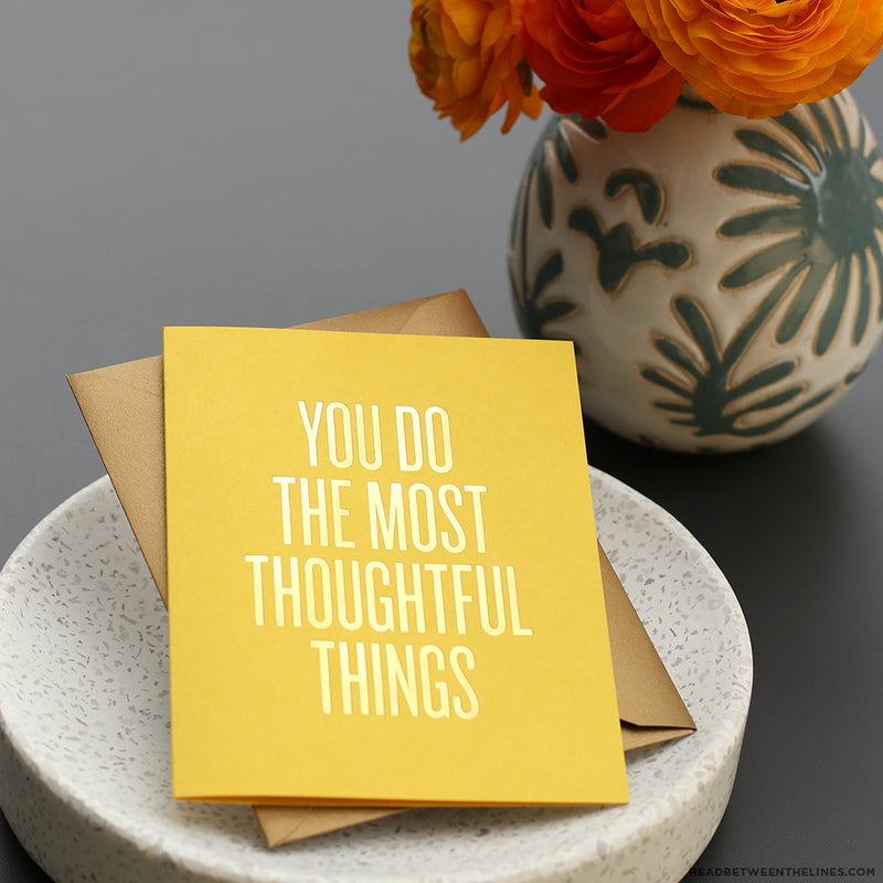 Thoughtful Things Card by RBTL®