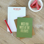 Miss You Most Card by RBTL®