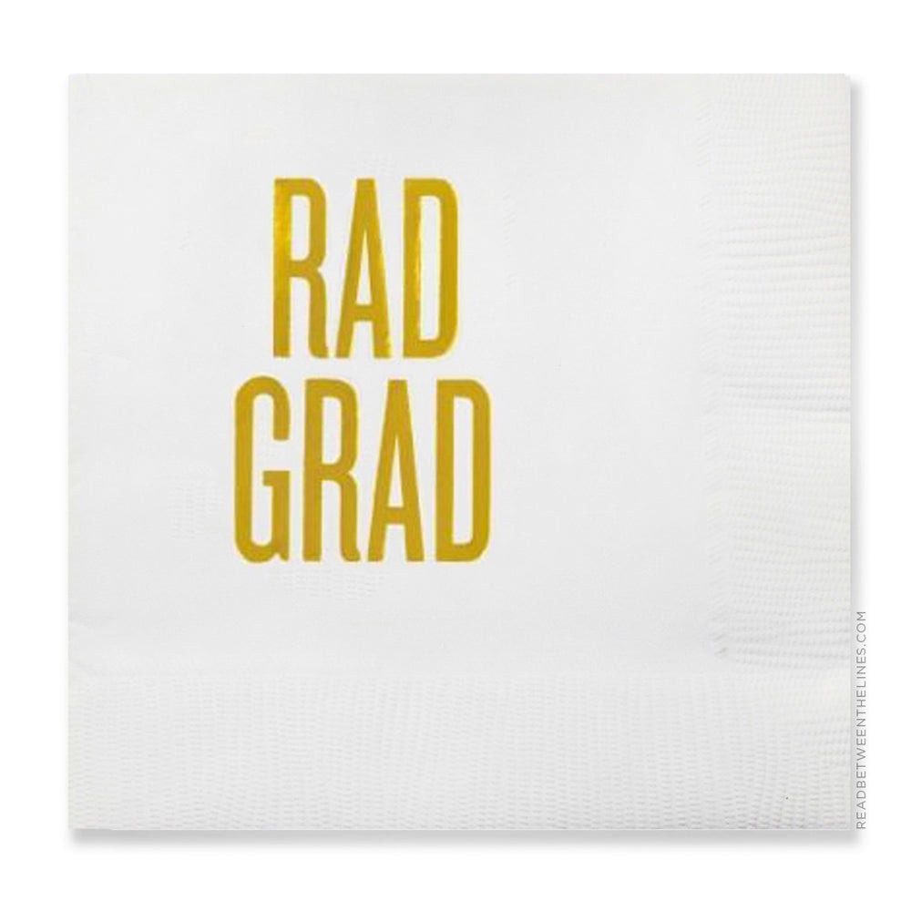 Rad Grad Cocktail Napkins by RBTL®