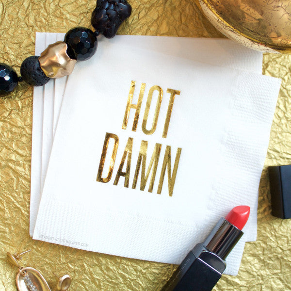 Hot Damn Cocktail Napkins by RBTL®
