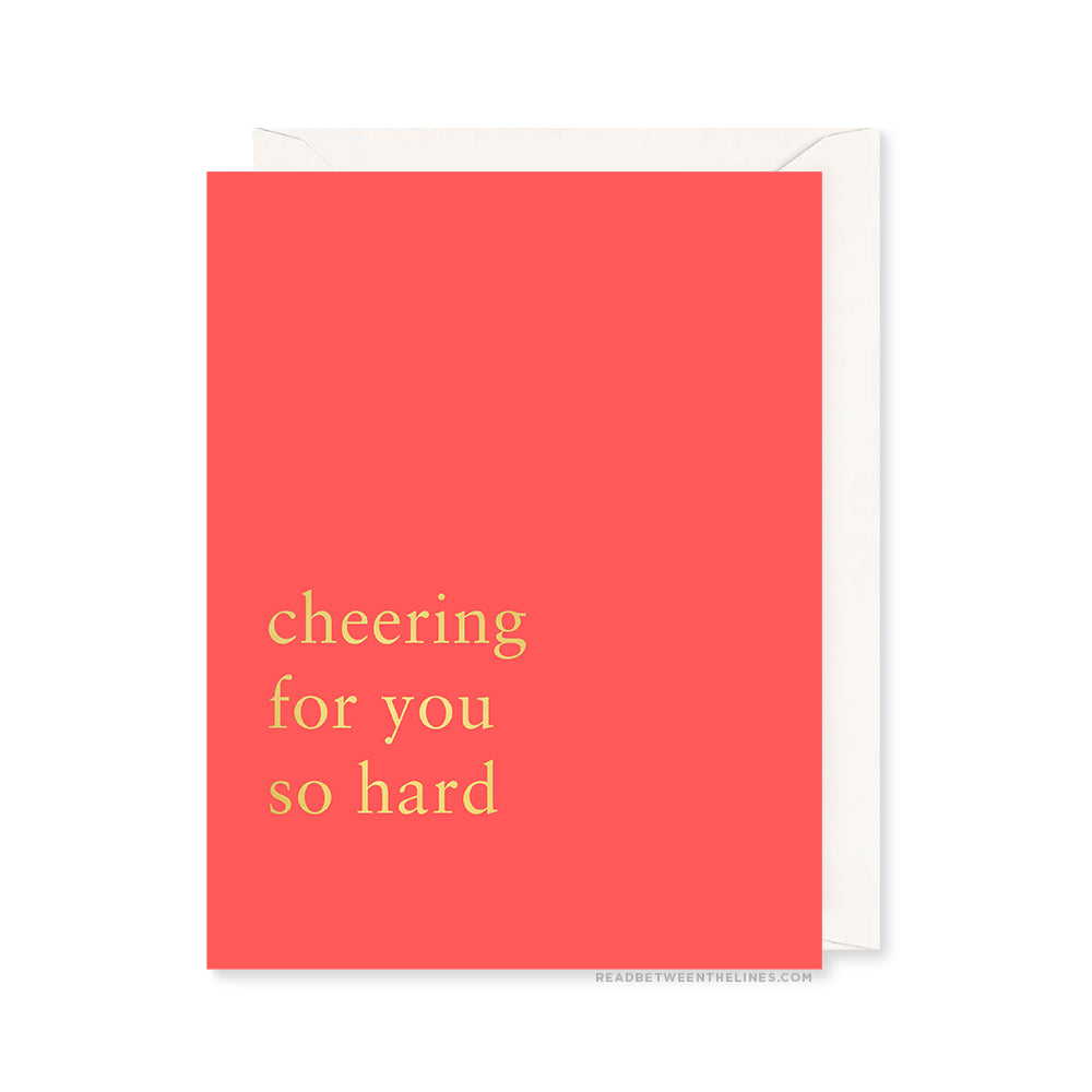 Cheering For You Card by RBTL®