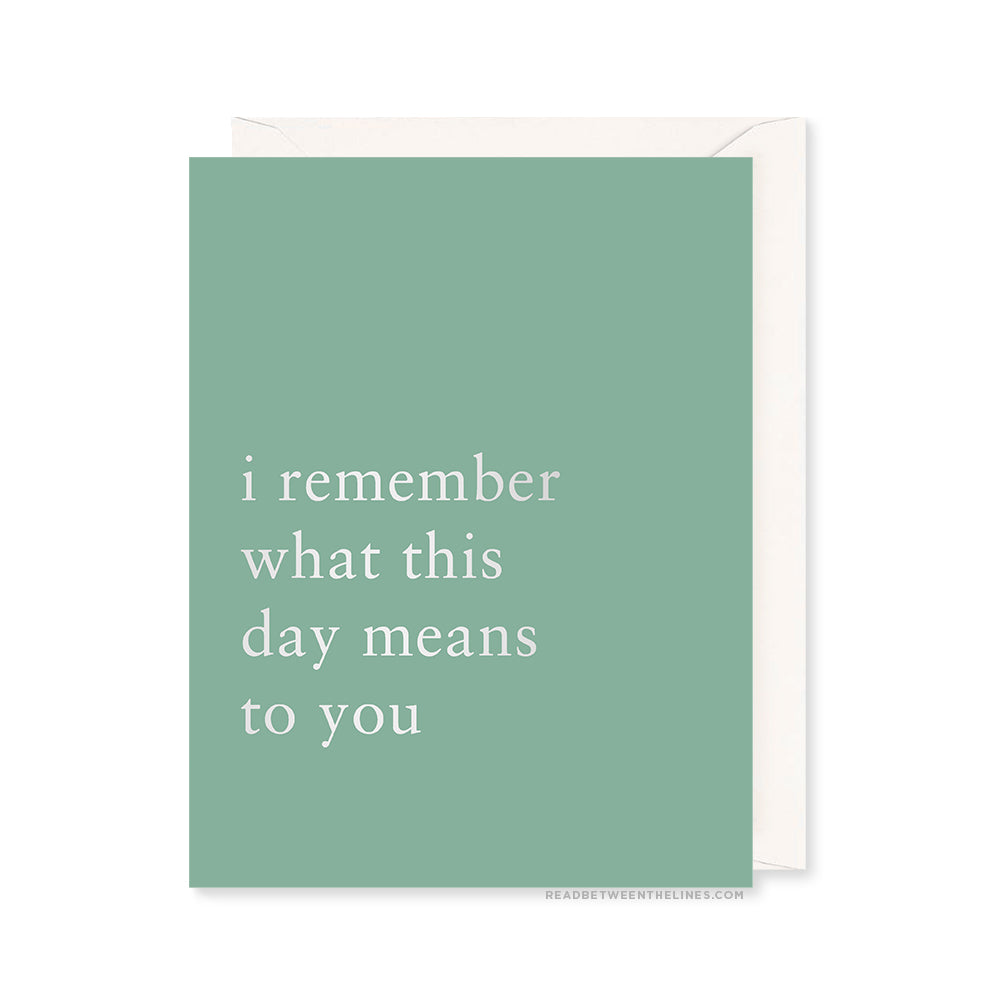 This Day Card by RBTL®