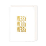 Merry Merry Merry Card by RBTL®