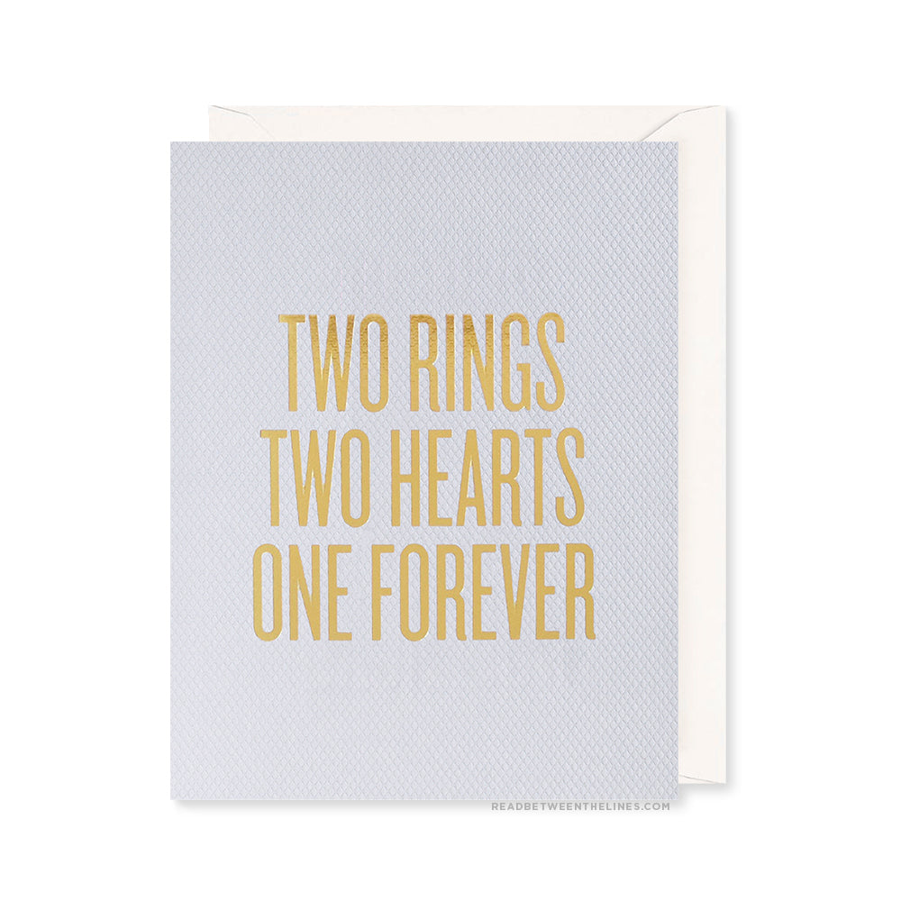 Two Rings Card by RBTL®