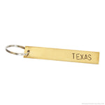 Texas Keychain by Tumble x Read Between The Lines®