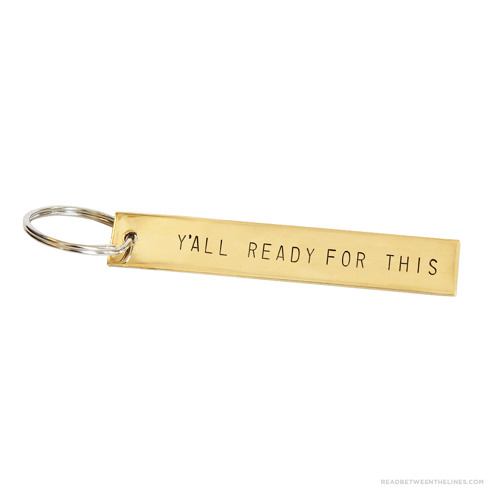 Y'all Ready For This Keychain by Tumble x Read Between The Lines®