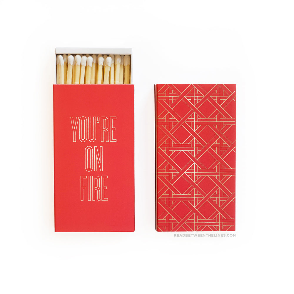 On Fire Matchbox by RBTL®