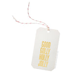 Good Golly Holly Jolly (Gold Foil) Gift Tags by RBTL®