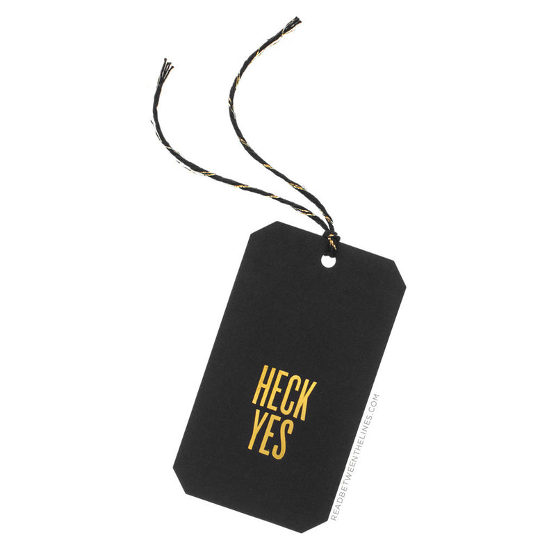 Heck Yes Gift Tags by RBTL®