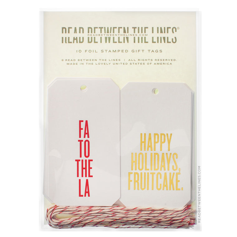 The Holiday Assortment Gift Tags by RBTL®