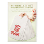 Hotsy Totsy Holidays (Red Foil) Gift Tags by RBTL®