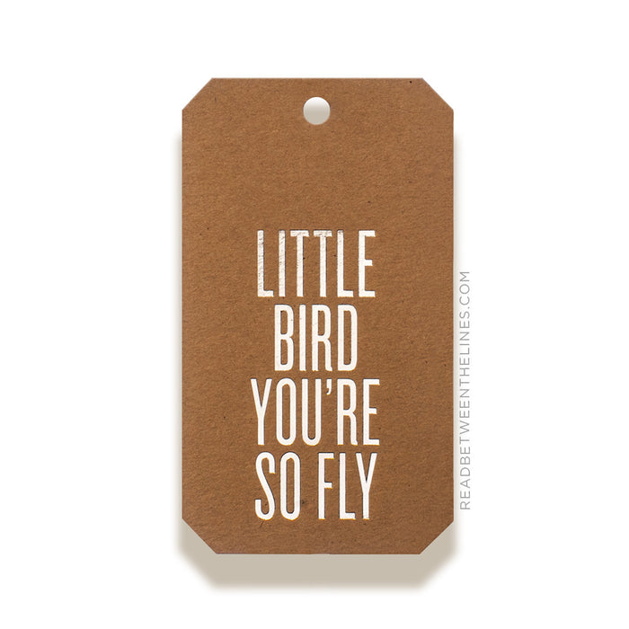 Little Bird You're So Fly Gift Tags by RBTL®
