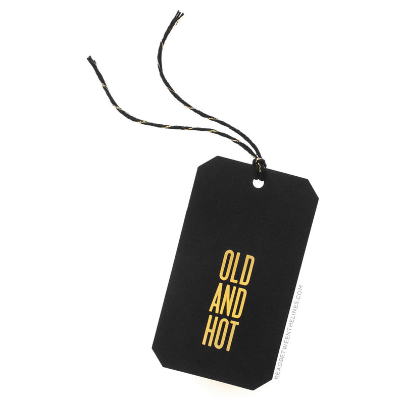 Old And Hot Gift Tags by RBTL®