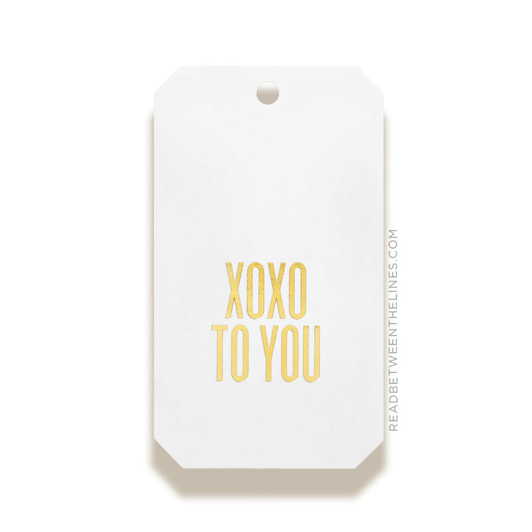 XOXO To You Gift Tags by RBTL®