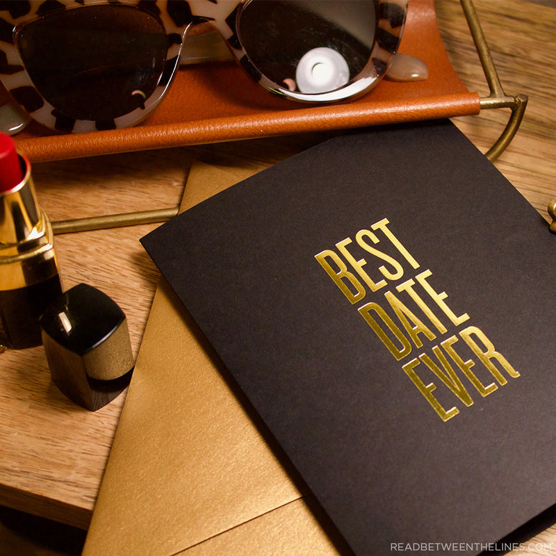 Best Date Ever Card by RBTL®