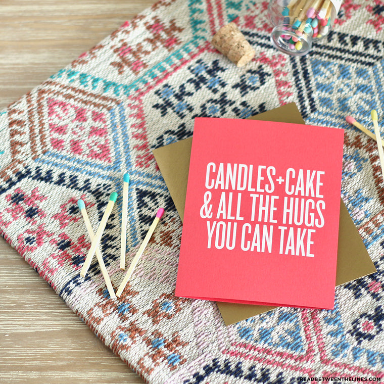 Candles + Cake Card by RBTL®