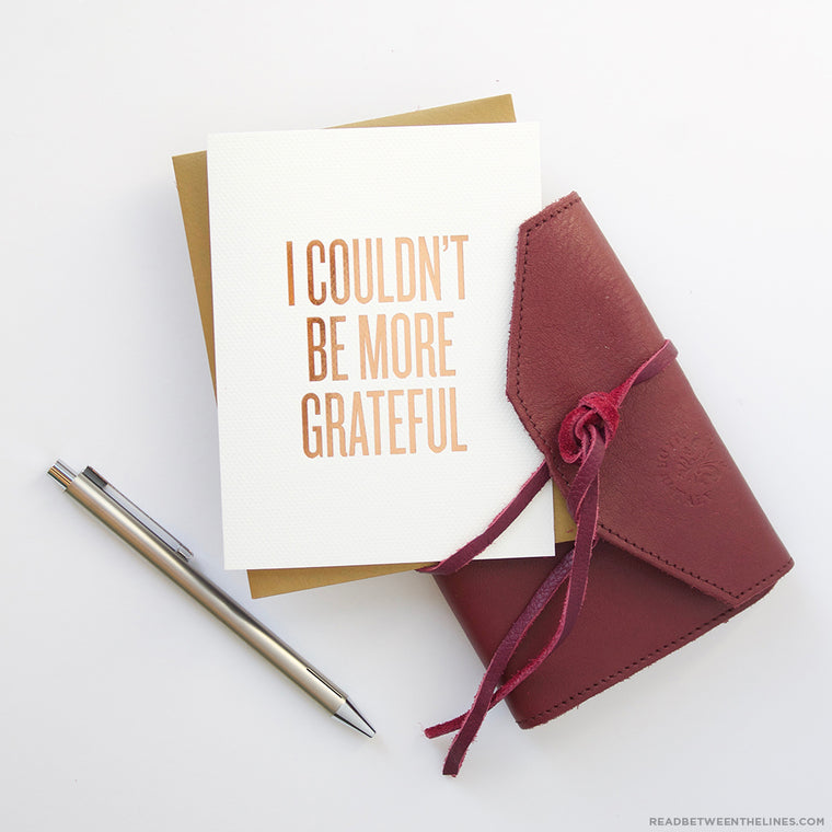 More Grateful Card by RBTL®