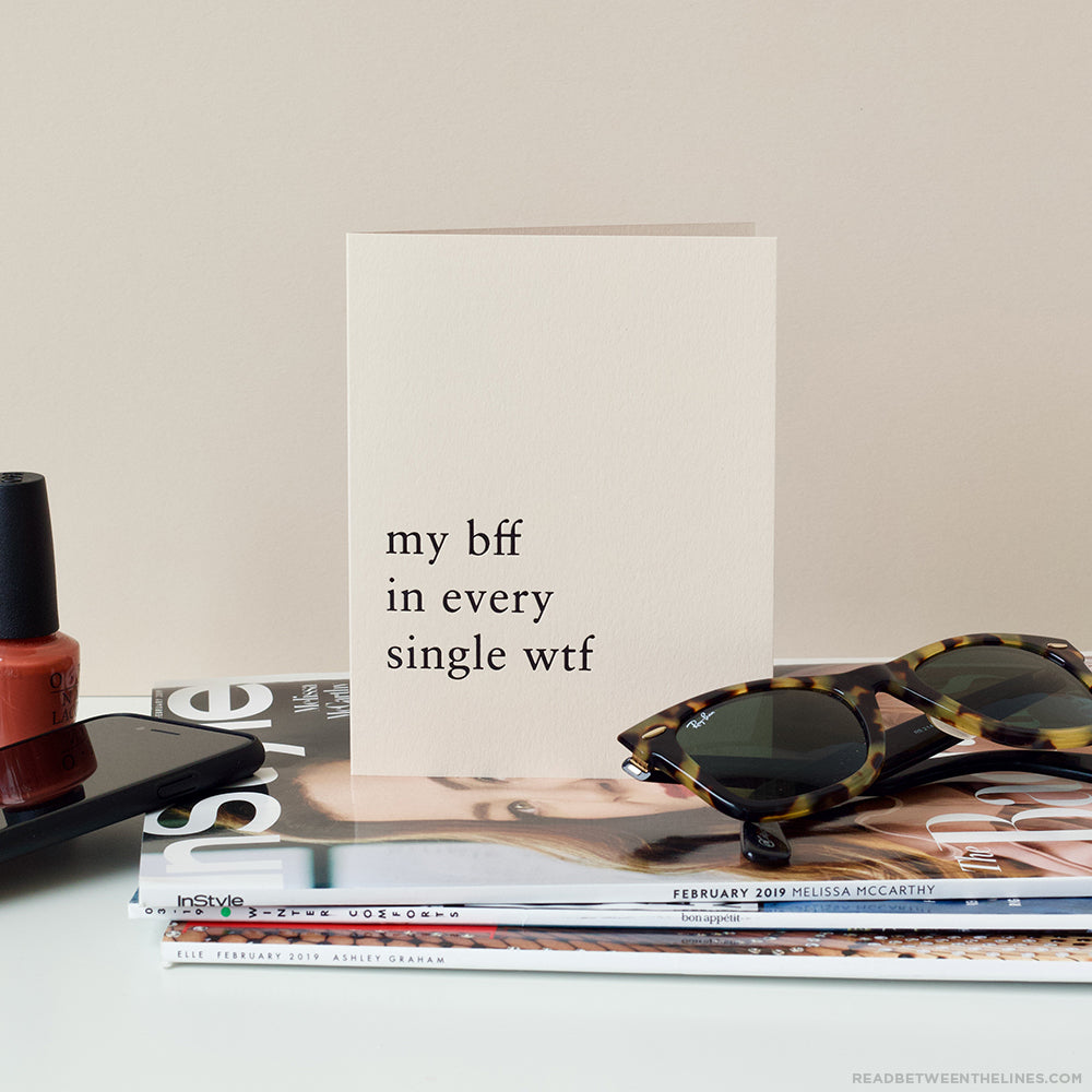 My BFF Card by RBTL®