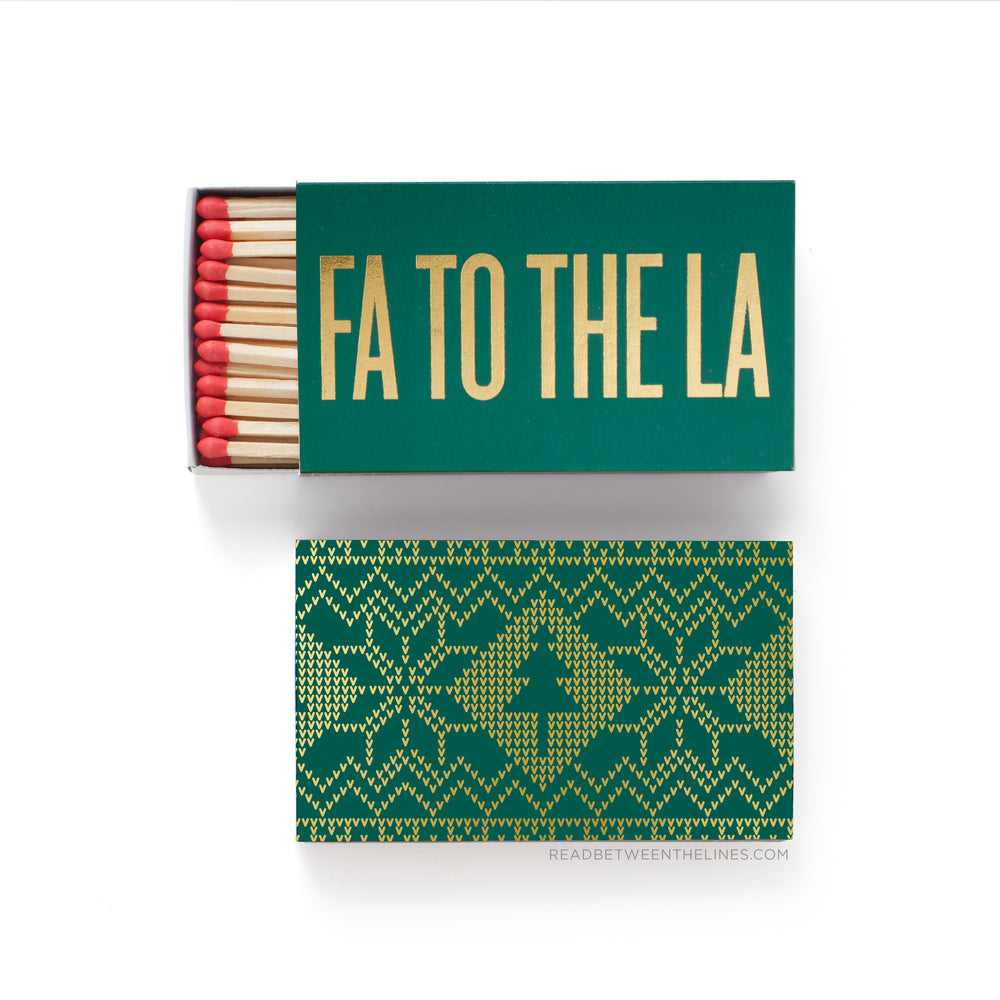Fa To The La Matchbox by RBTL®
