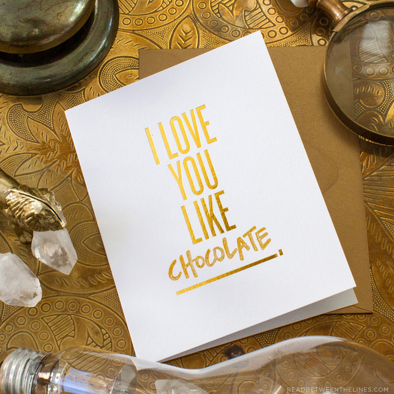 I Love You Like ____. Card by RBTL®
