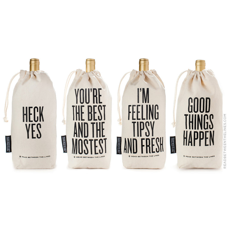 You're The Best And The Mostest Wine Bag by RBTL®