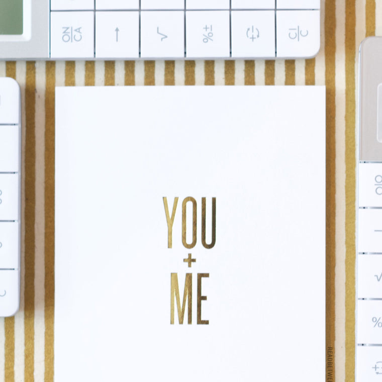 You + Me Card by RBTL®