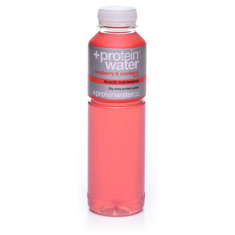 Protein Water Co - Raspberry & Cranberry