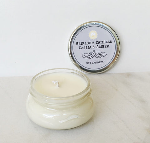 Cassia & Amber Soy Candle