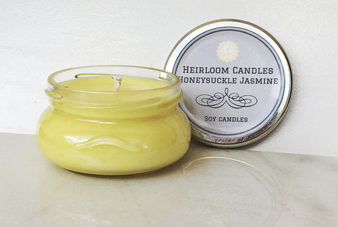 Honeysuckle Jasmine Soy Candle