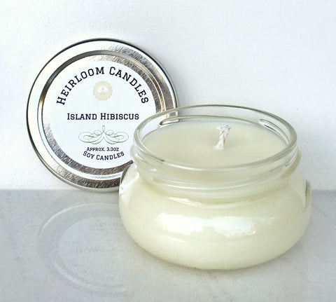 Island Hibiscus Soy Candle