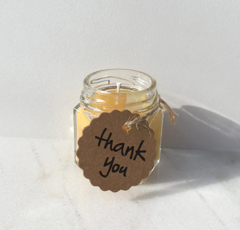 Brown Kraft Paper Thank you Tags