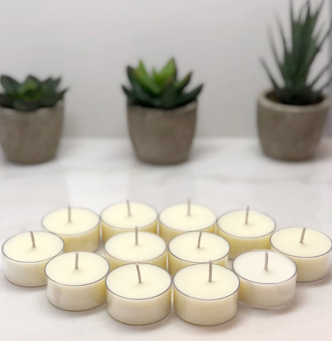 Soy Tea Lights - Pack of 6 - Pick your Scent