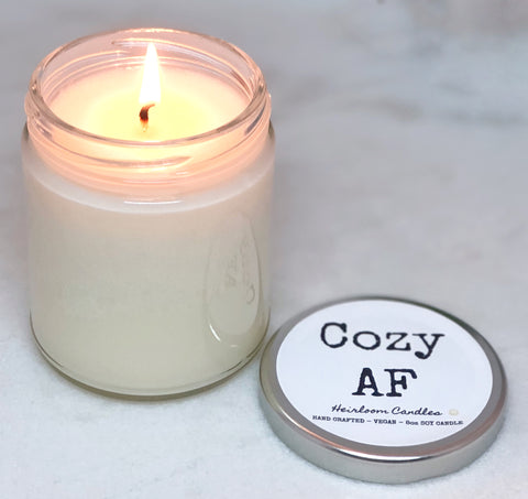 Cozy AF - Funny Decor Candle