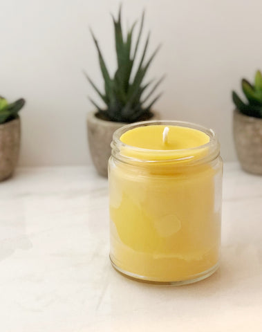 Upgrade Custom Candle from Soy to Beeswax