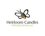 16oz Pure Beeswax Candle in Apothecary Jar