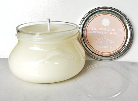 Frankincense and Myrrh Soy Candle