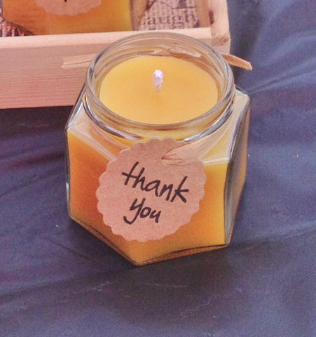 2oz Beeswax Candles - Sample Sizes