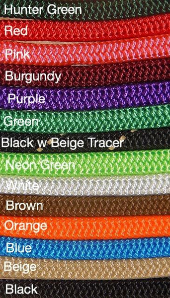 lead rope colors