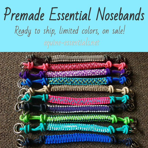 Premade EE Essential Nosebands
