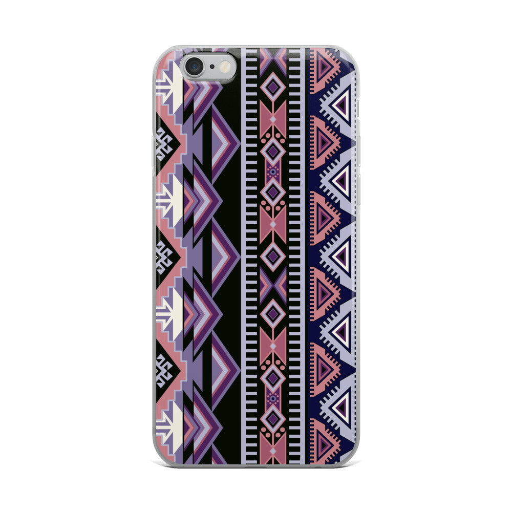 Purple Aztec Iphone Case