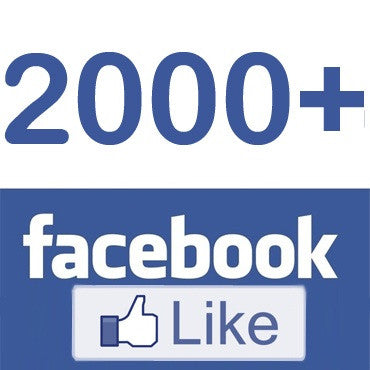 We passed 2,000 likes on Facebook!!!
